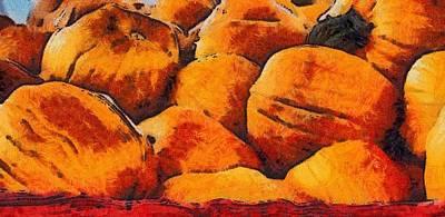 Pumpkin Art Art Print