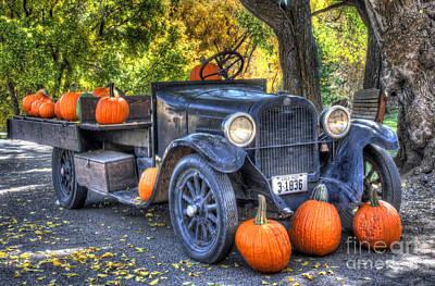 Pumpkin Hoopie Art Print