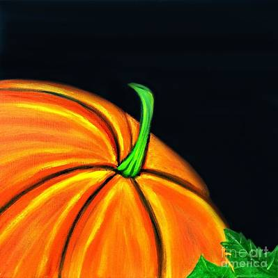 Painting - Pumpkin I by Shelia Kempf