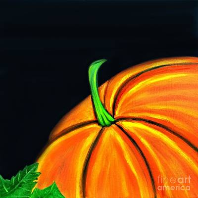 Painting - Pumpkin II by Shelia Kempf