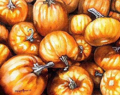 Painting - Pumpkin Palooza by Shana Rowe Jackson