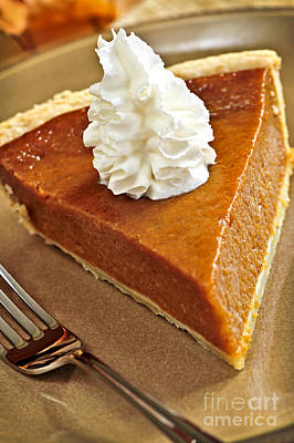 Pumpkin Pie Art Print