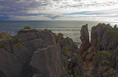 Photograph - Punakaiki Pancake Rocks #4 by Stuart Litoff
