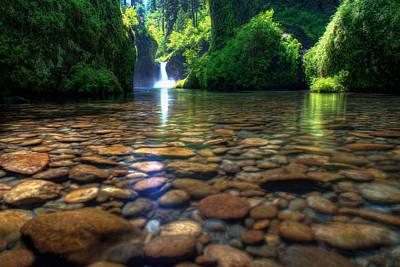 Photograph - Punch Bowl Falls by Dustin  LeFevre