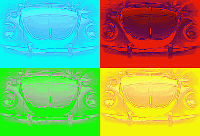 Photograph - Punch Buggy by Laurie Perry