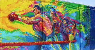 Punch Art Print by Chuck  Hicks