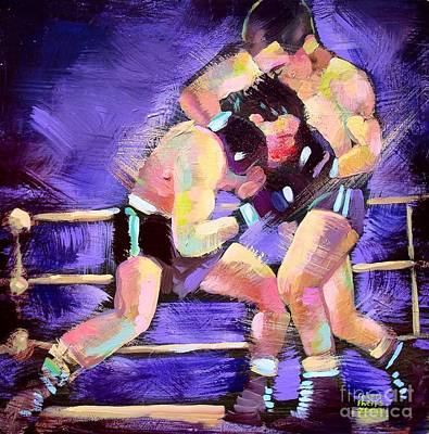 Painting - Punch Out by Robert Phelps