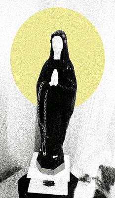 Punk  Holy M Digital Art Print by Golden Section