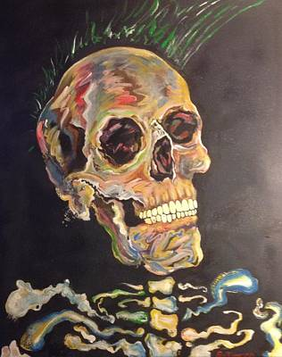 Painting - Punk Is Not Dead by Erik Franco