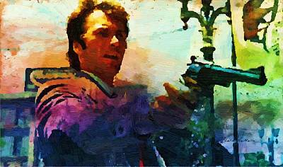 Dirty Harry Painting - Punk by Lelia DeMello