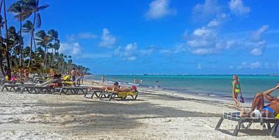 Photograph - Punta Cana Beach by Kay Novy