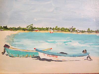Punta Cana Art Print