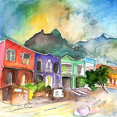 Painting - Punta Del Hidalgo 01 by Miki De Goodaboom