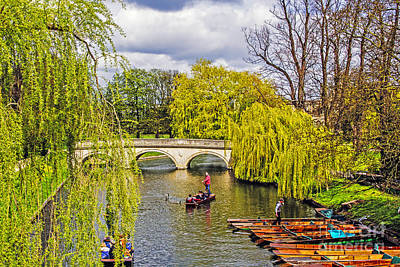 Farmhouse - Punting on the Cam by Elvis Vaughn
