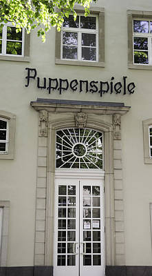 Puppenspiele Theatre Cologne Germany Print by Teresa Mucha