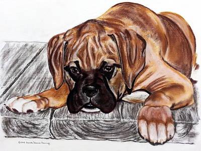 Painting - Puppy Love by Brenda Stevens Fanning