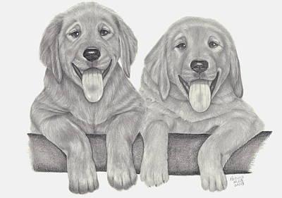 Puppy Love Print by Patricia Hiltz