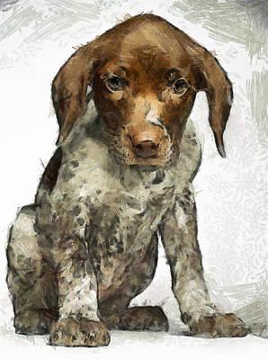Art Print featuring the painting Pupy by Georgi Dimitrov