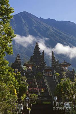 Photograph - Pura Besakih Bali by Craig Lovell