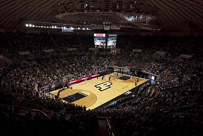Purdue Boilermakers Mackey Arena Art Print by Replay Photos