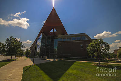Photograph - Purdue Univ. Neil Armstrong Hall Of Engineering by David Haskett II