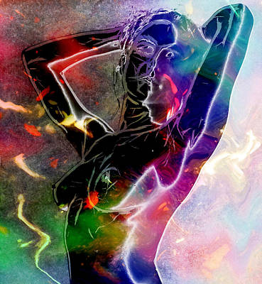 Female Body Digital Art - Pure Female Energy by Steve K
