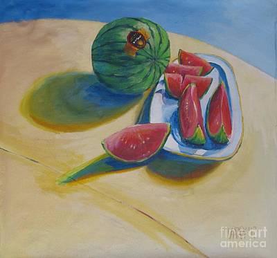 Pure Heart Art Print by Vanessa Hadady BFA MA