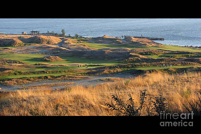 Golf Photograph - Pure Links Style Golf - Chambers Bay Golf Course by Chris Anderson