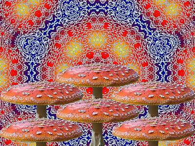 Mushroom Digital Art - Pure Magic by Robert Orinski
