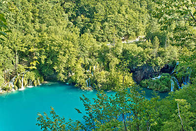 Photograph - Pure Nature Of Plitvice Lakes National Park by Brch Photography