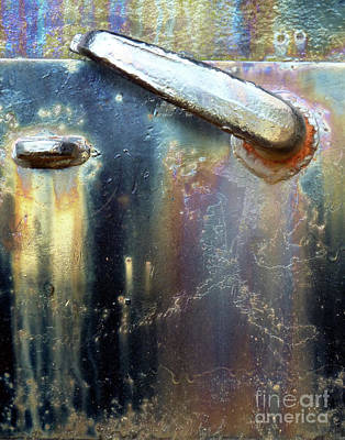 Art Print featuring the photograph Pure Patina by Newel Hunter