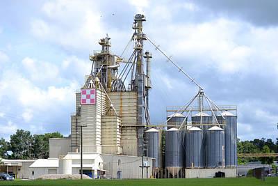Photograph - Purina Grain Mill - Lake City Florida by rd Erickson