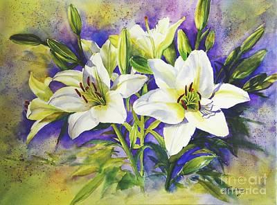 Purity Art Print by Betty M M   Wong