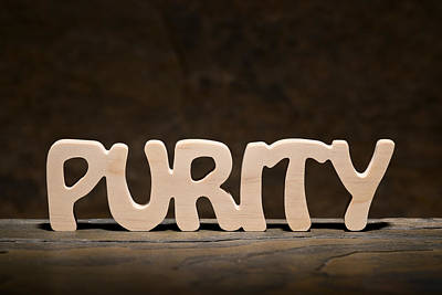 Positive Attitude Photograph - Purity by Donald  Erickson