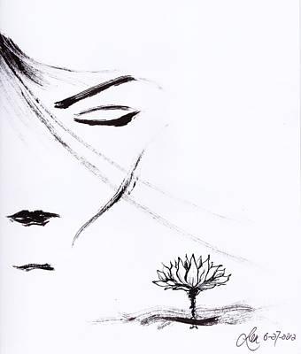 Purity Art Print by Len YewHeng