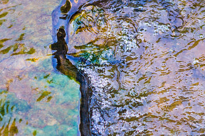 Purl Of A Brook 3 - Featured 3 Art Print by Alexander Senin