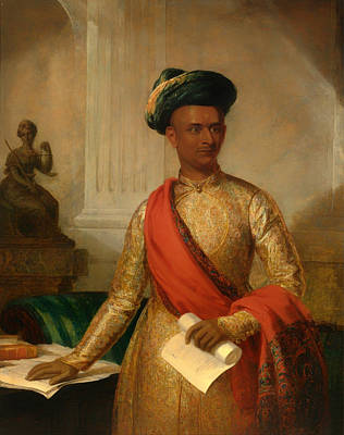 Purniya Chief Minister Of Mysore Art Print by Mountain Dreams