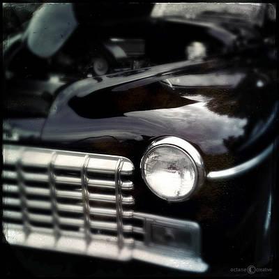Photograph - Purple 1948 Dodge by Tim Nyberg