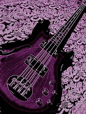 Photograph - Purple Bass by Chris Berry