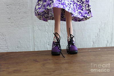 Wall Art - Photograph - Purple Boots by Sara Ricer