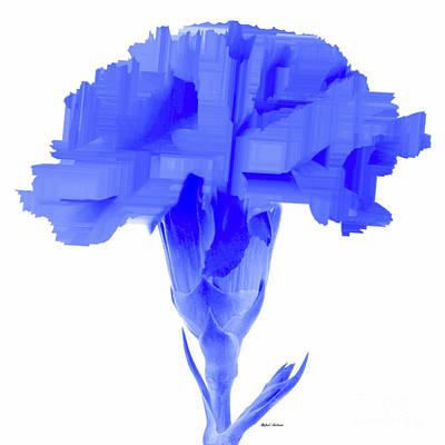 Digital Art - Purple Carnation by Rafael Salazar