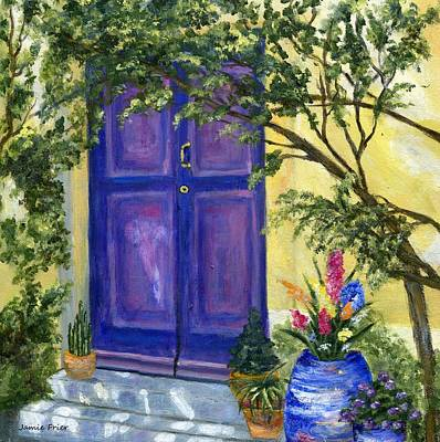 Painting - Purple Door by Jamie Frier