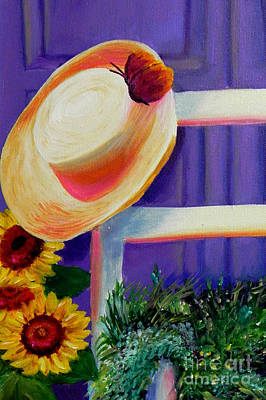 Painting - Purple Door  by Shelia Kempf