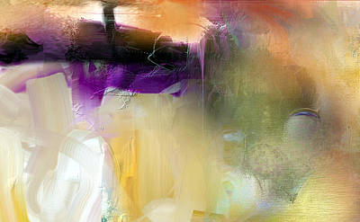 Digital Art - Purple Dream by Davina Nicholas