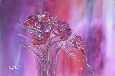 Purple Drifter Art Print