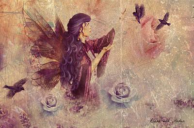 Purple Fairy Art Print