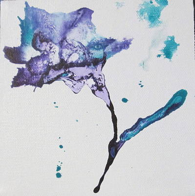 Aloha For Days - Purple Flower by Mary Kay Holladay