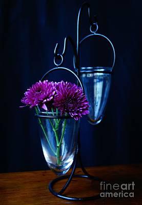 Photograph - Purple Flowers Still Life by Kerri Mortenson