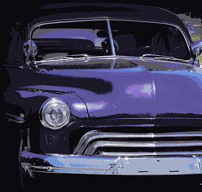 Photograph - Purple Ford 1 by Sheri McLeroy