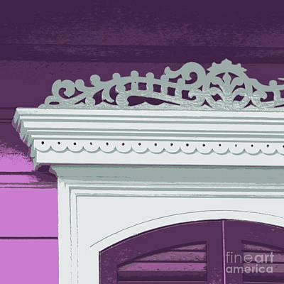 Digital Art - Purple Gingerbread by Valerie Reeves